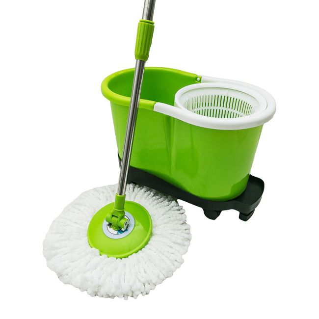 Hand press best mop 360 rotation magic bucket mop