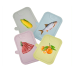 China Kitchen Utensils Wholesale Plastic Classified Chopping Board 4pc Set