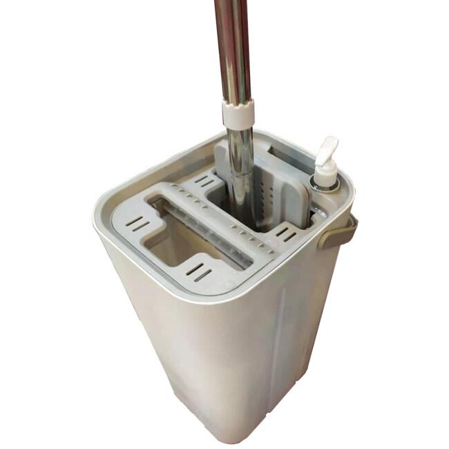 BN1906 Brand New Squeeze Dry Flat Mop Bucket Floor cleaning mops