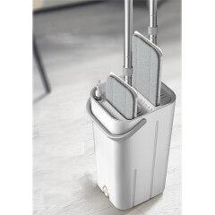 BNcompany hand free easy to use magic flat mop