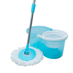 Hand Press Spinning Mop 360 Mop Cleaner Set With 360 Mop Microfiber