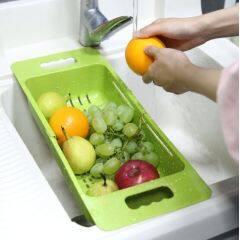 Plastic Vegetable sink basket strainer