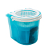 Divided Bucket Microfiber Magic Mop 360 with Pedal