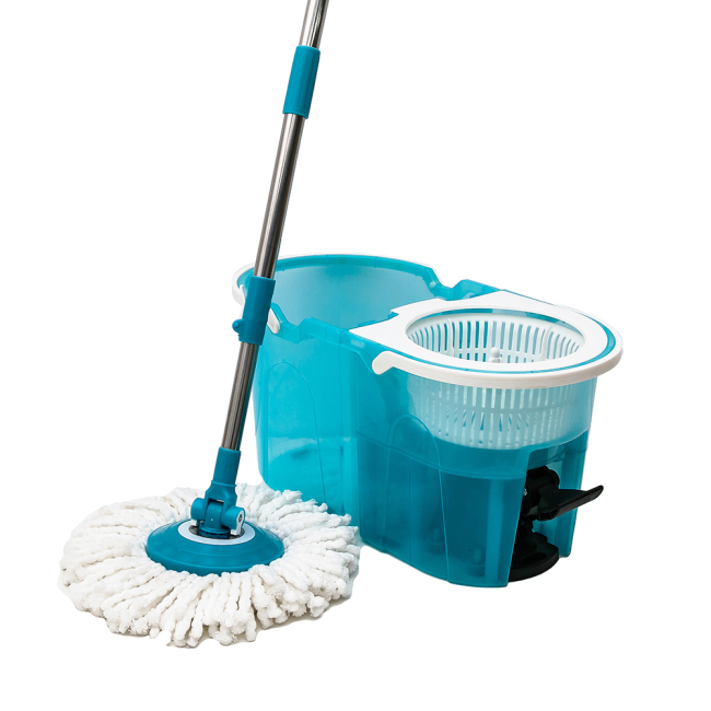 Floor Cleaning Pedal 360 Spinning Mop with Bucket