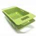 Multifunctional Kitchen Pasta Rice Plastic Strainer