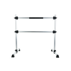 BNcompany 4 FT Aluminium Ballet Barre Portable and Light Weight Including Free Leg Stretching