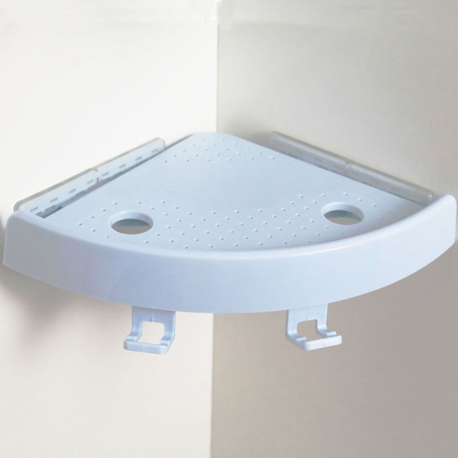ABS strong magic bathroom hanging corner shelf with Design Utility Patent