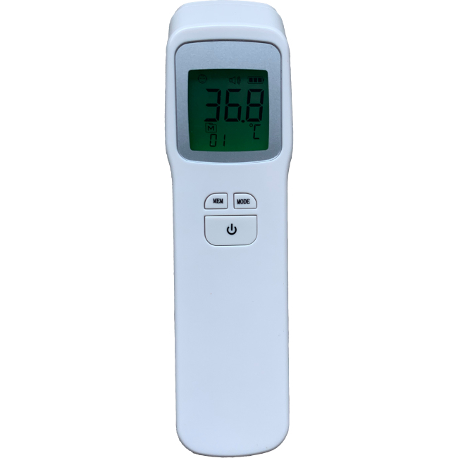 Non contact digital forehead thermometer