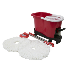 Household items 360 spin microfiber magic mop set and bucket cleaning floor