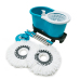 Spin Magic Mop With Bucket No Foot Pedal Type Rotate 360 with 2 Easy Mop Heads