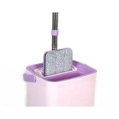 House Floor cleaning Squeeze Flat Mop Water Squeeze Bucket