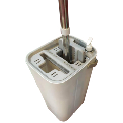 Super Flat Mops floor cleaning magic mop with Squeeze Bucket