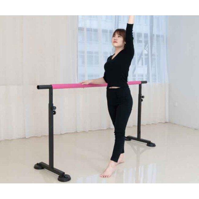 BNcompany Gymnastic Kids Horizontal Adjustable Exercise Bar Portable Ballet Bar For Dance