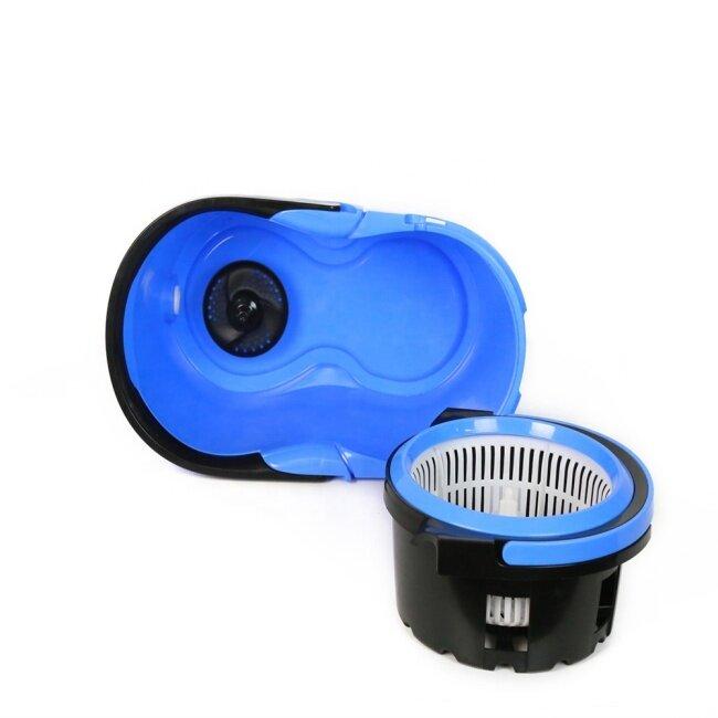 BNcompany 360 Rotating Magic Mop With Handle Bucket Flat Floor Mop Set