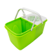 Household Mop Housekeeping Equipment Cleaning Trolley Double Bucket