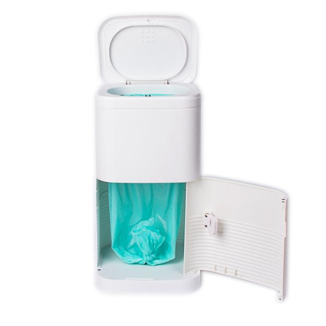 BNcompany Double lid anti-bacterial trash diaper disposal bin