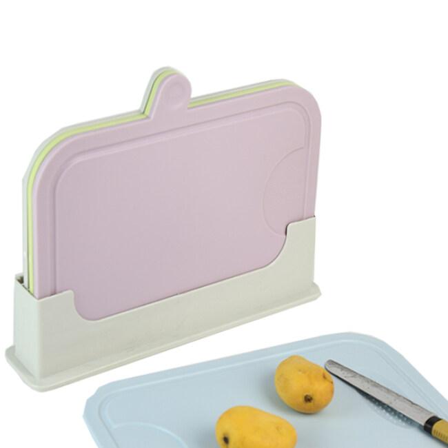 Multifunction Kitchen Classified Plastic Chopping Board