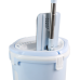 Self Flat Squeeze Mop Bucket with Microfiber cleaning mop