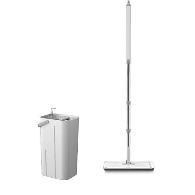 BNcompany BN1911 magic microfibre fabric clean flat mop bucket set