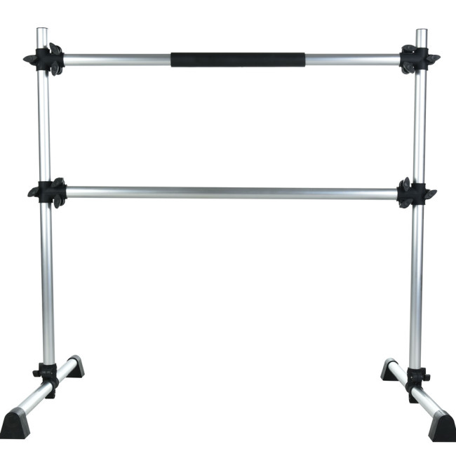 BNcompany Powder coated gymnastic portable ballet barre dance height adjustable bar for home club training