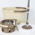 Detachable Wringer Bucket Easy Cleaning Telescopic Pole 360 Spin Bucket Mop
