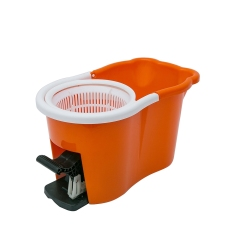 Plastic Bucket With Pedal Assemble 360 Double Bucket Rotating Spin Magic Mop