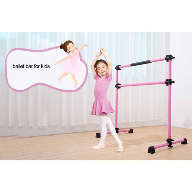 BNcompany  Portable and Adjustable Double Ballet Barre