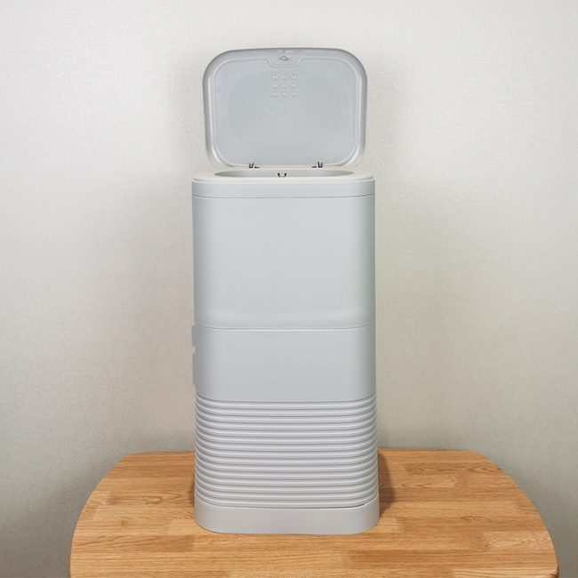 BNcompany 100%ABS+PP plastic baby diaper pail trash bin controls odour