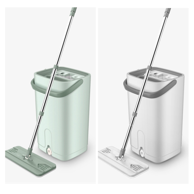 Mini size self washed stainless steel handle microfiber easy use flat mop for household cleaning work