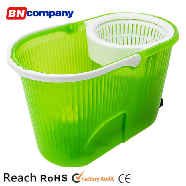Transparent Color Smart House Cleaning Tools For Sales Plastic Bucket Mops
