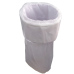 Trash bin bags for dog and cat pet waste diaper pail refill liner