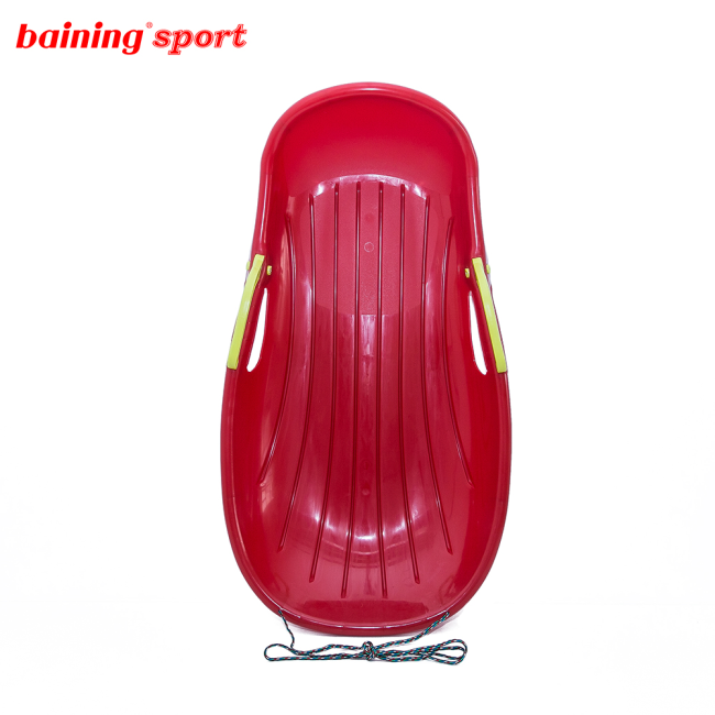 Plastic Snow Sled Sledge with brake for Kids