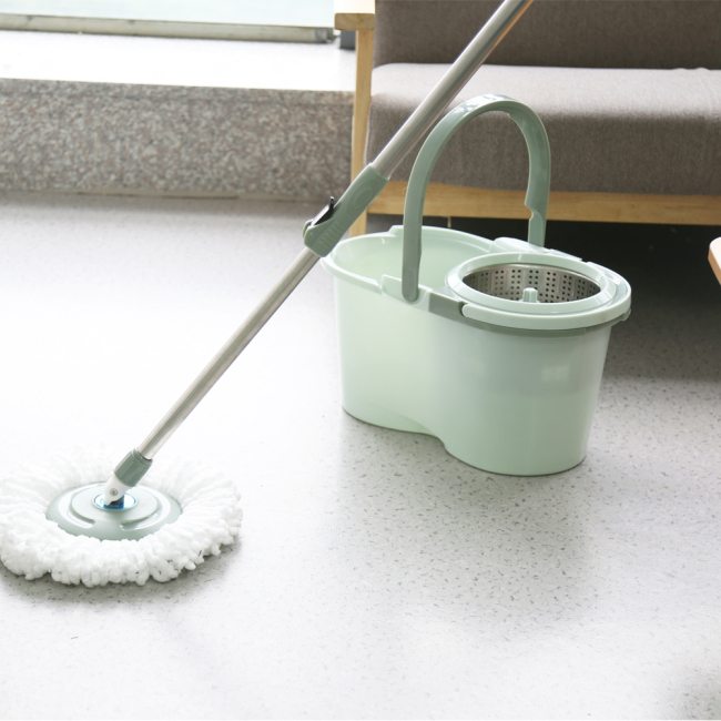 BNcompany 360 Rotating magic mops with bucket cleaning mops