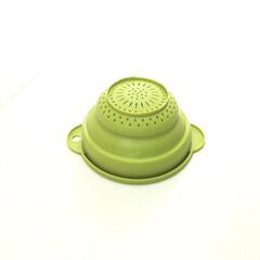 Folding Collapsible Fruit Vegetable Sink Colander Strainer Plastic Kitchen Washing Basket