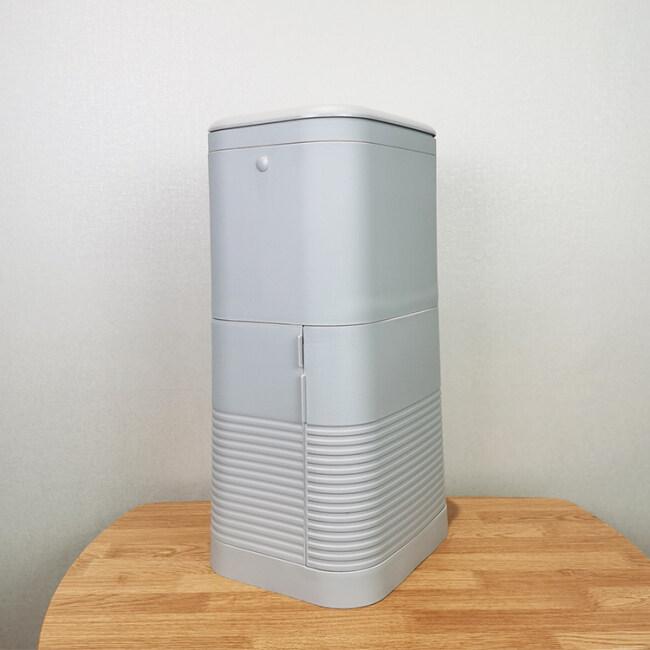 BNcompany quality plastic trash bin with built-in garbage bag storage