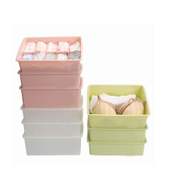 Home Closet Organizer Bra Underwear Drawer Divider Underwear Storage Box
