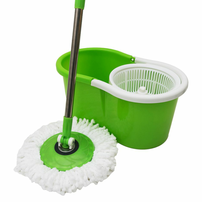 Spin Cleaning Mop Parts Mop Bucket with Wringer Spin Floor Mop Wiper