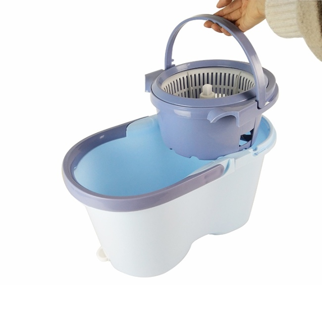 BN201705 360 Spin Wringer Bucket Floor Cleaning Mop