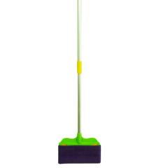 Foldable Handle Pole Window Cleaning Flat Mop Broom