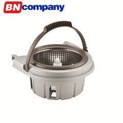 2 Wheels Wringer Basket Removable Mop Hand Spinner