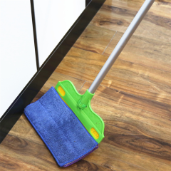 135cm Extendable Handle Type 2 Sides Bendable Mop Head Smart Sweeping Mop