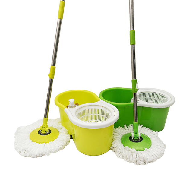 Cleaning Mini 360 Magic Mop with Bucket Yellow from China