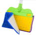 Household Double Sided Flat Floor Cleaning Mop
