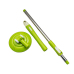 Cleaning Floor Mop Parts Telescopic Extension Pole Mop Pole