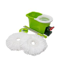 Microfiber Mop Head 360 Magic Cleaning Pedal  Mop
