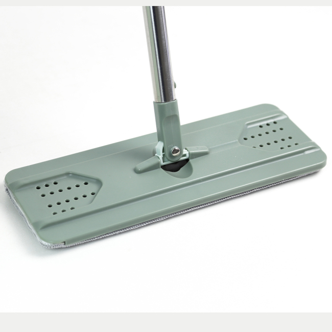 Stainless steel long handle cleaning mop