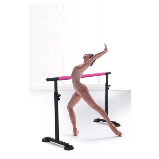 BNcompany Adjust Portable Dance Bar Thicken Steel Indoor Horizontal Bar with Bigger Base Plate Ballet Bar For Dancing Studio