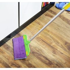 Plastic Floor 360 Magic Soft Cleaning Broom Mops