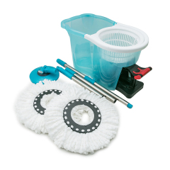 Household Easy Life Dust Microfiber 360 Spin Floor Cleaner Mop