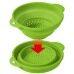 Fruit Sieve Basket Kitchen Wash Rice Tool Bowl Plastic Strainer Colander Plastic Fruit Vegetable Basket